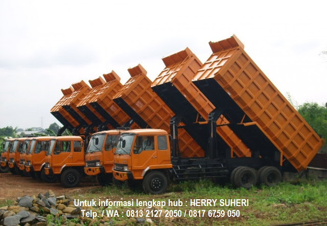 kredit mobil fuso dump truck dp ringan - bunga rendah - 2019