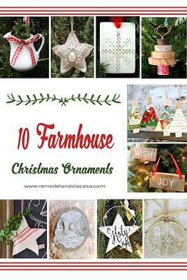 farmhouse decor for Christmas