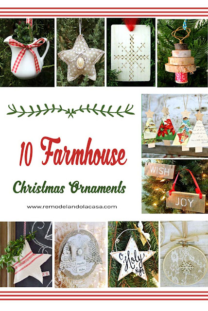 farmhouse decor for Christmas