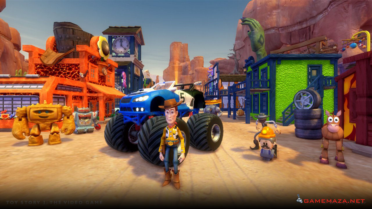 Toy 3 Games : Toy story the video game free download maza