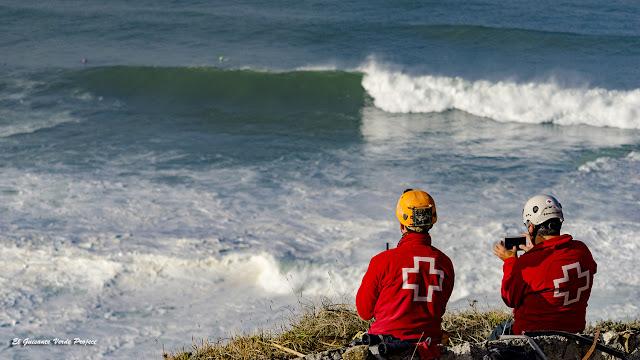 Punta Galea Challenge,  equipo de rescate por El Guisante Verde Project