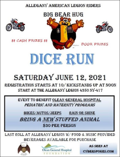 6-12 Dice Run, Allegany Legion