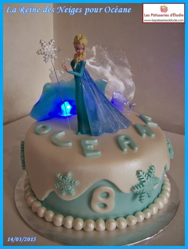 Les Patisseries D Elodie Cake Design Gateau Reine Des Neiges