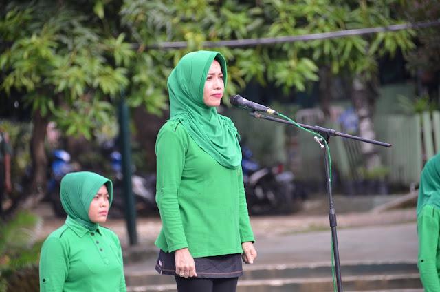 Peringati HUT ke 72, Persit KCK Rem 141/Tp Laksanakan Pemilihan Pos Yandu, Rumah Sehat Dan Porseni