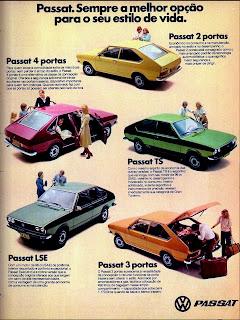 propaganda Passat - 1978; volkswagen; volks; vw; propaganda anos 70. propaganda carros anos 70. reclame anos 70. Oswaldo Hernandez.