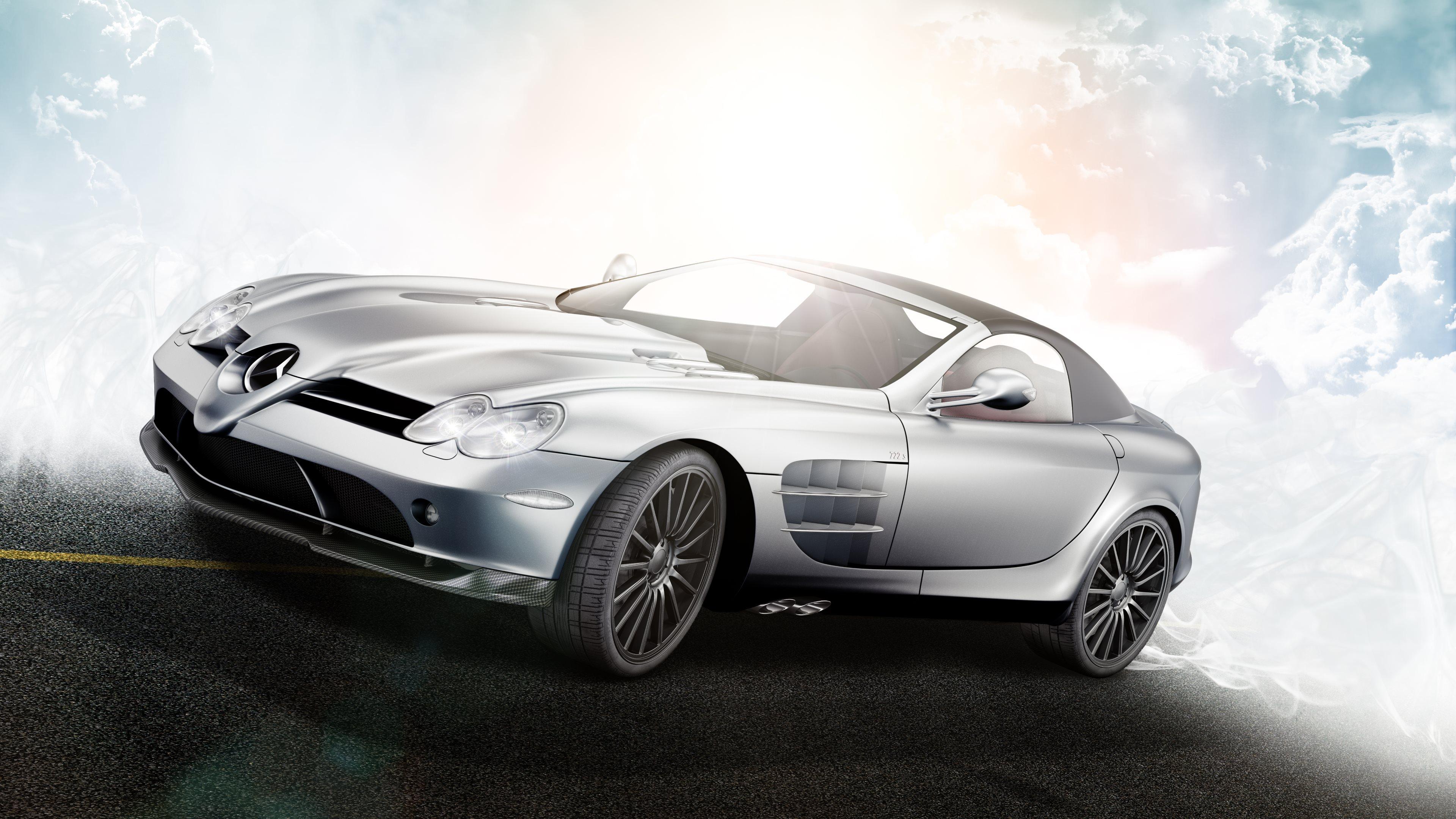 wallpaper mercedes benz mclaren slr 722s ultra hd 4k 3840x2160 - Mercedes Benz Slr Wallpaper Hd