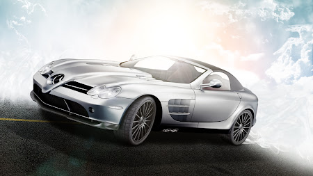 Mercedes-Benz Mclaren SLR 722S macbook desktop