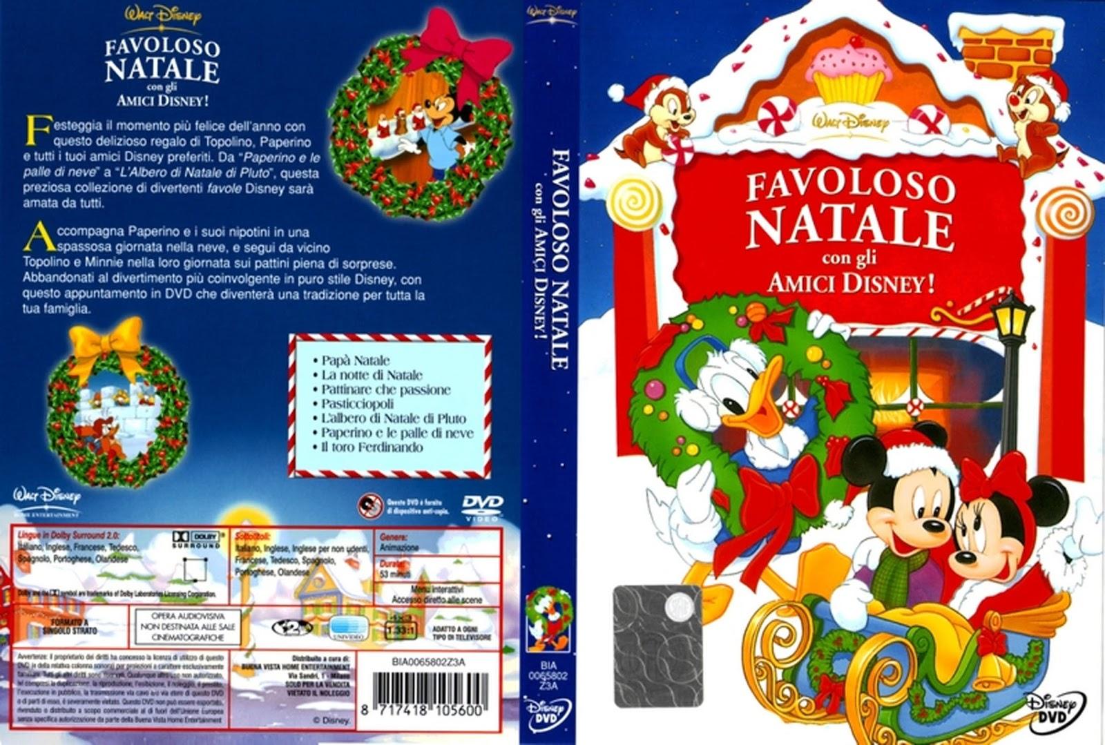 Disney Animazione: Favoloso Natale con gli Amici Disney - DVD