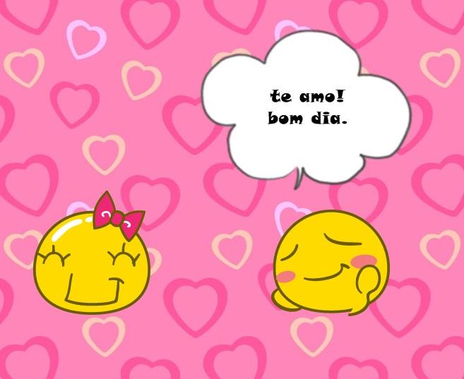 By Camyla Lyma: Eu Te Amo Virou Bom Dia