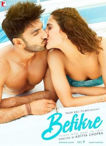 Befikre 2016 BluRay 900MB Hindi Movie 720p