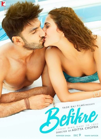 Befikre 2016 BluRay 900MB Hindi Movie 720p