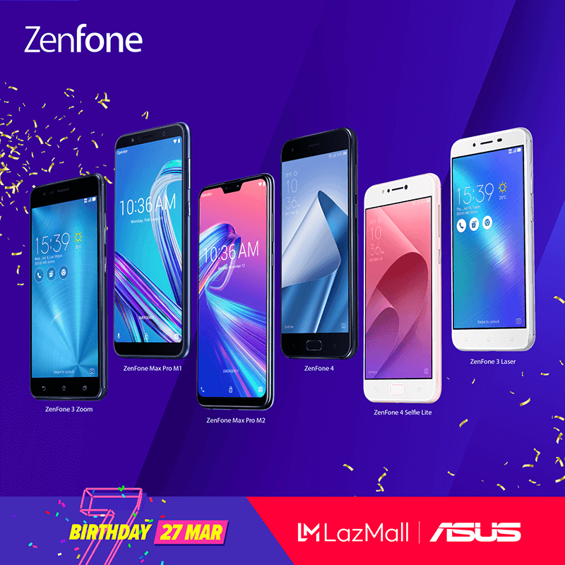 ASUS joins Lazada 3.3 Birthday Sale with discounts on ZenFone and ZenPower devices