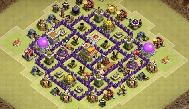 5 Base War Th 7 Paling Kuat Di Clash Of Clan Yang Paling Susah
