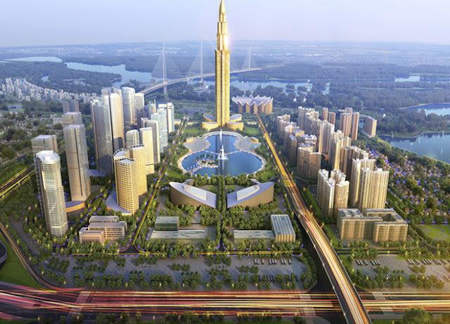 tháp tài chính 108 tầng  Phương Trạch