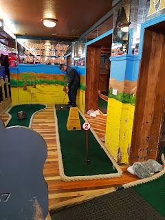 Pirate Crazy Golf at the Fairworld Amusement Arcade in Cleethorpes