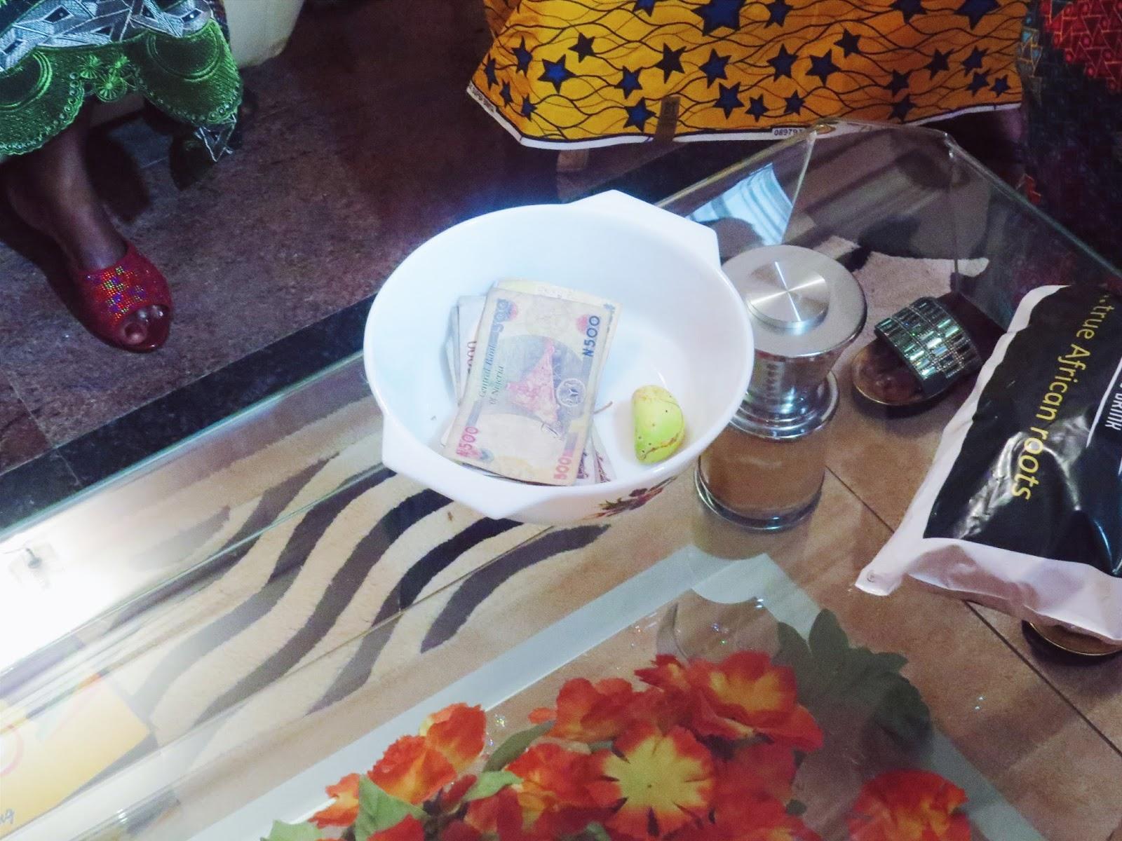 Bini traditional wedding customary rites