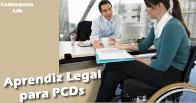Programa Aprendiz Legal para PCDs