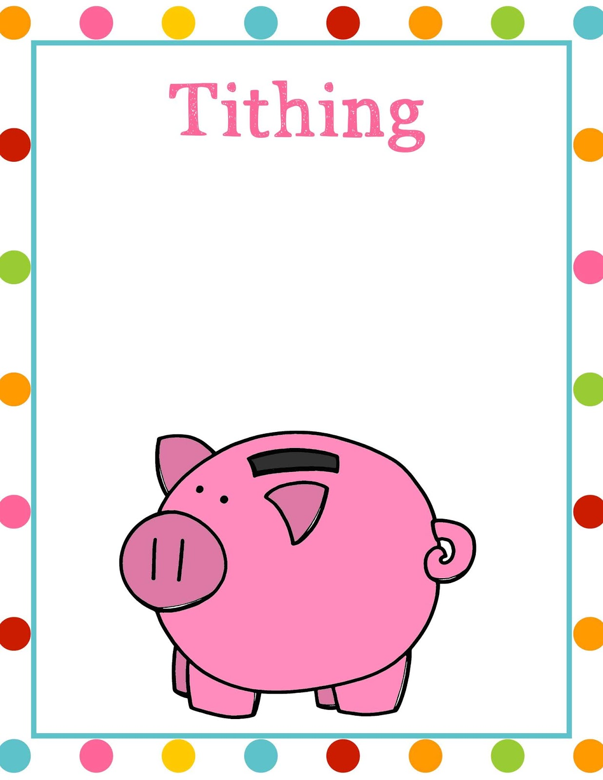 The Cozy Red Cottage: I can Pay Tithing (Primary 2, Lesson 33) Free ...