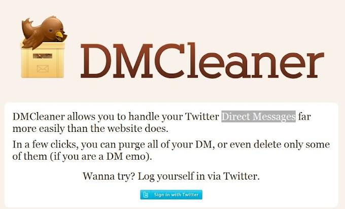Cara Menghapus Semua Direct Messages Twitter