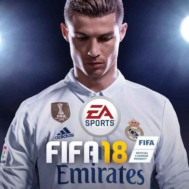 CR7 será la portada del popular videojuego FIFA 18