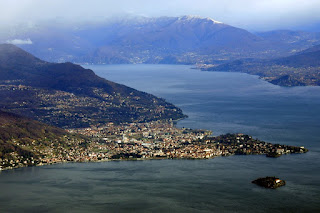 Verbania is the largest town on Lake Maggiore