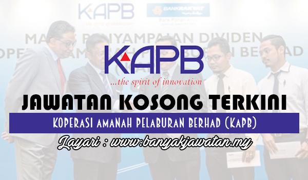 Jawatan Kosong 2017 di Koperasi Amanah Pelaburan Berhad (KAPB) www.banyakjawatan.my