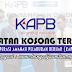 Jawatan Kosong di Koperasi Amanah Pelaburan Berhad (KAPB) - 30 July 2017