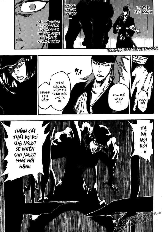 Bleach chapter 465 trang 16