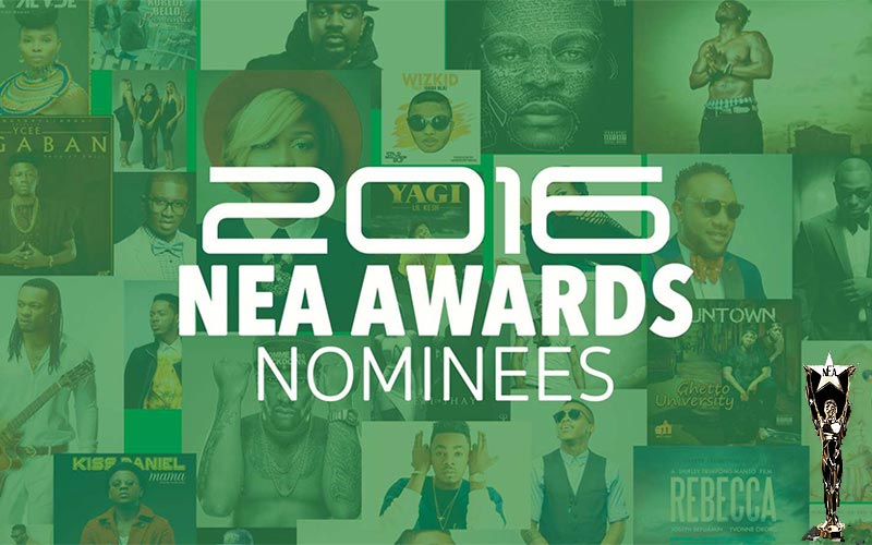 Full list of Nigerian Entertainment Awards (#NEAAwards) 2016 nominees