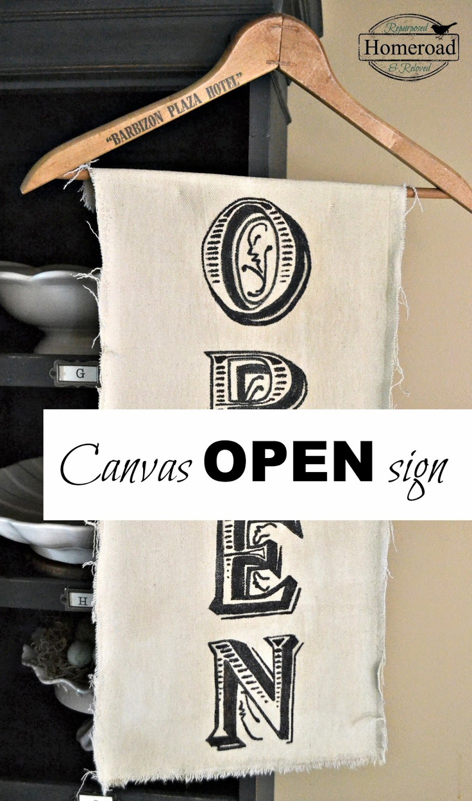 canvas-OPEN-sign www.homeroad.net