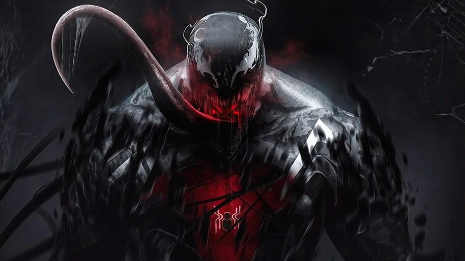 Venom Marvel Comics 4k Wallpaper 6 1144