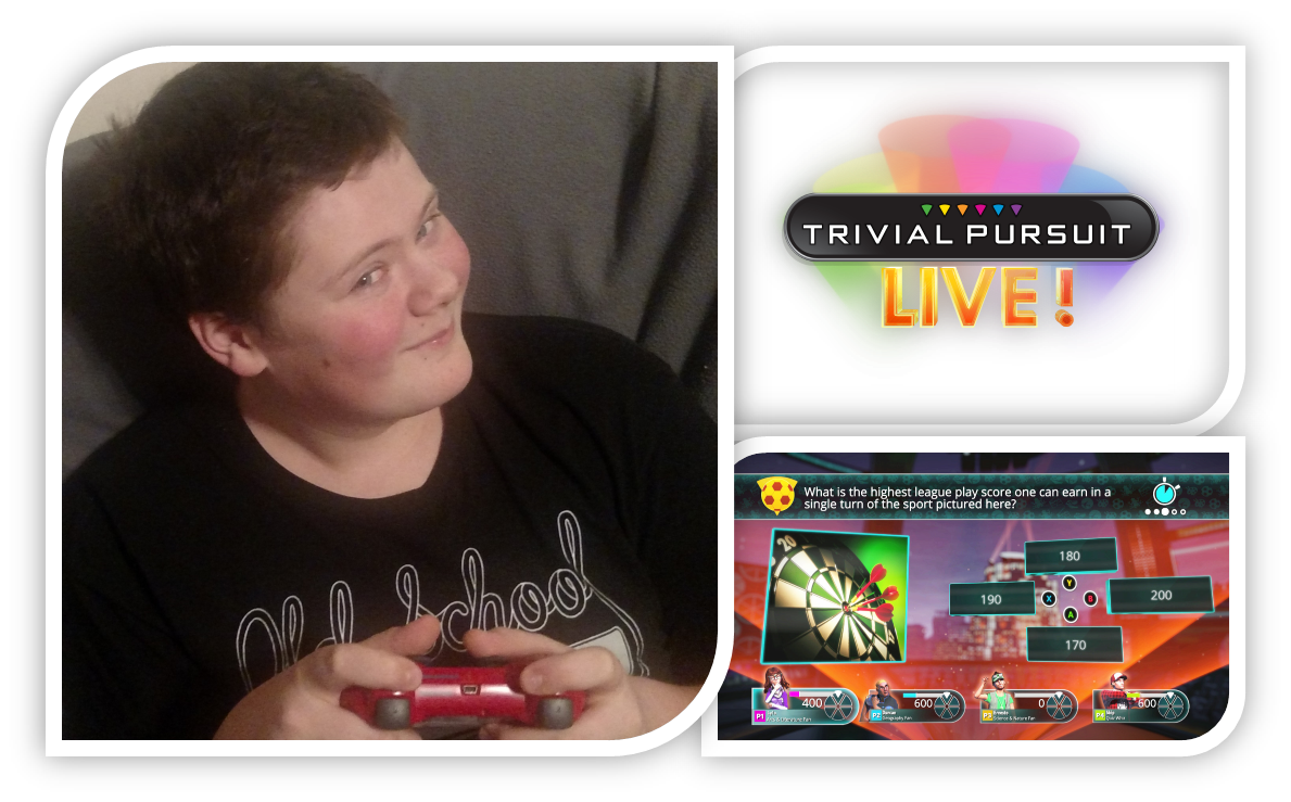 Family Game Night with Trivial Pursuit Live! #HasbroGameChannel #CG #