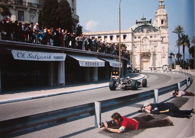 Massenet, Monte Carlo F1 G.P. by Rainer Schlegelmilch (1969)