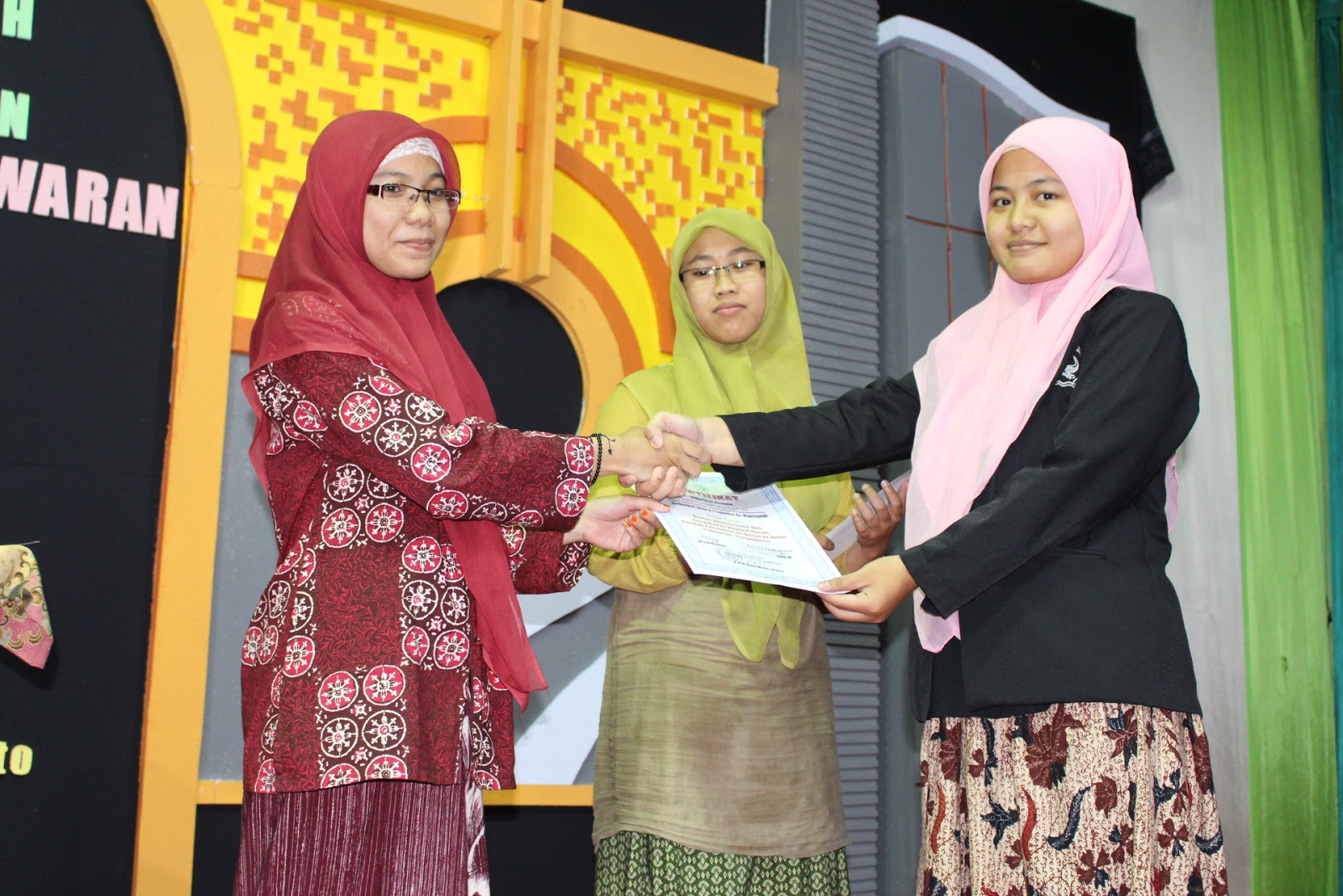 Santriwati Al Amin Purtwokerto jawa tengah