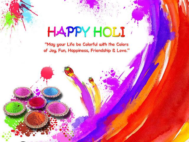 Happy Holi Quotes Wishes