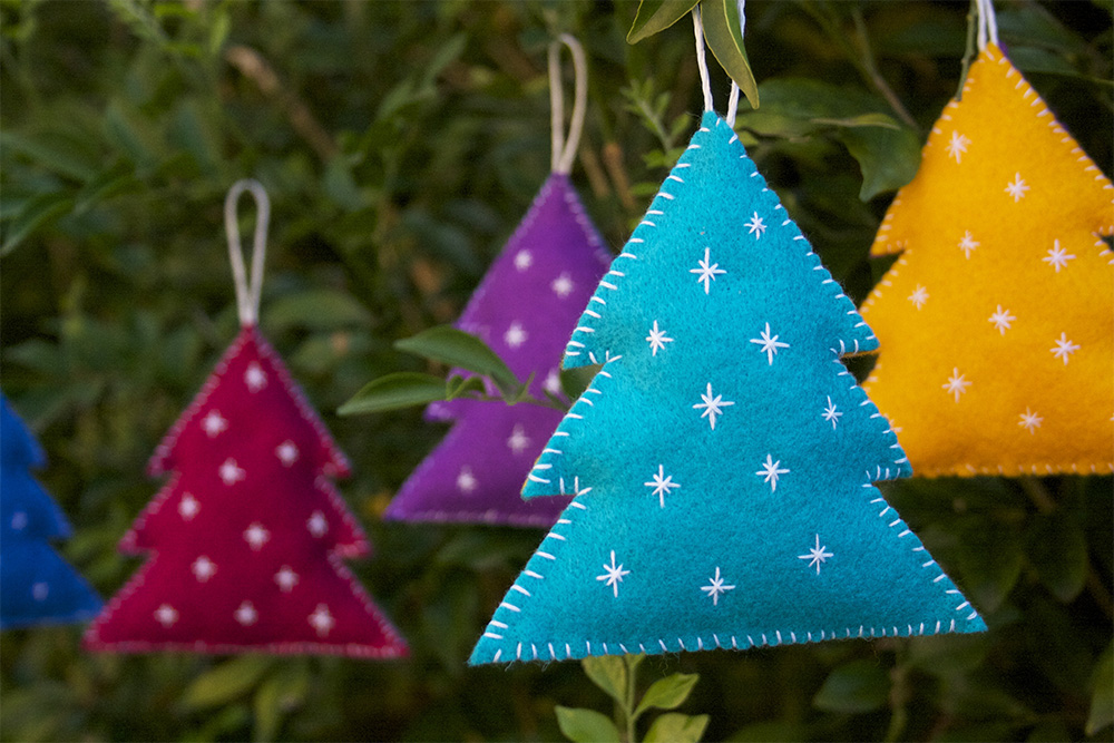 If You Have A Specific Colour Theme For Your Christmas Decorations This Year Can Make Them To Match