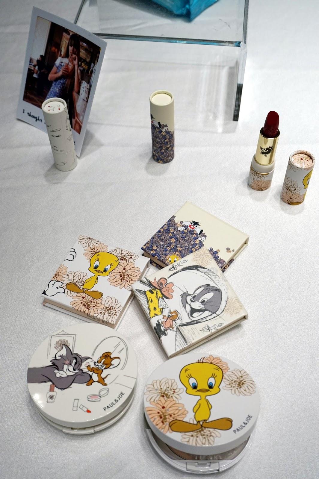Paul & Joe Looney Runes makeup Tweety Bird