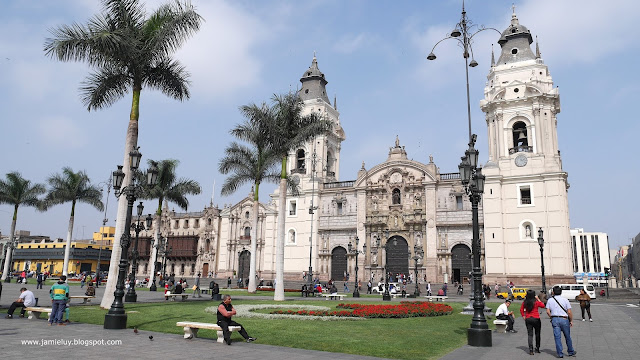 Plaza Mayor or Plaza de Armas, Lima, Peru
