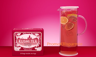 Logo Vinci gratis una Miscela Kusmi Tea