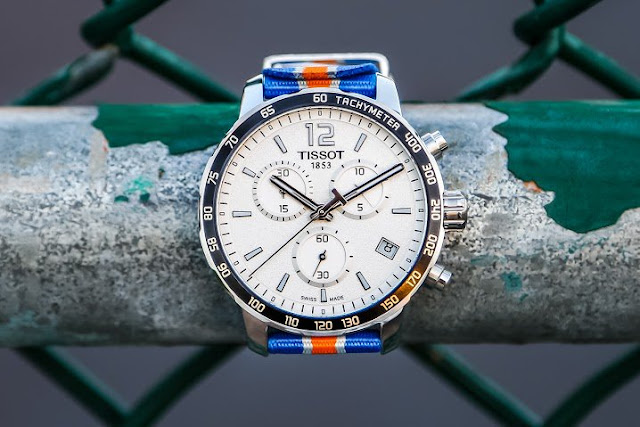 The New York Knicks are giving fans in New York, New Jersey and Connecticut a chance to enter once on Twitter to win one of eight gorgeous Knicks branded Tissot Watches!