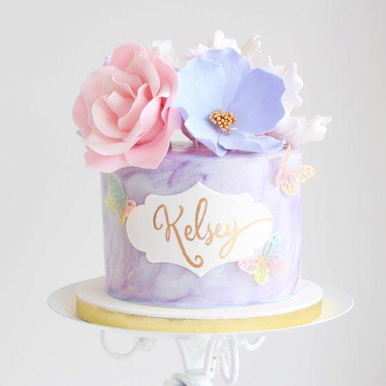 bánh sinh nhật kem ngon và xinh xắn
