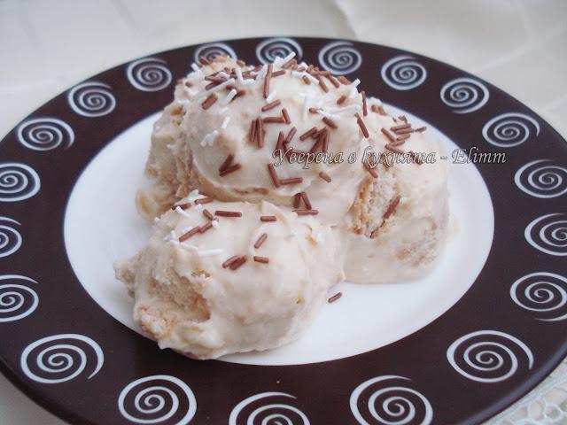 Бисквитена торта с маскарпоне и пудинг