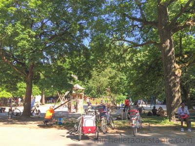 Hirschgarten, maior Biergarten da Alemanha, Munique
