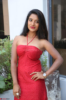 Mamatha sizzles in red Gown at Katrina Karina Madhyalo Kamal Haasan movie Launch event 212.JPG