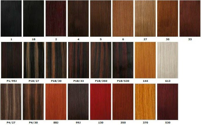 Xpression Braids Color Chart Hairstylegalleriescom