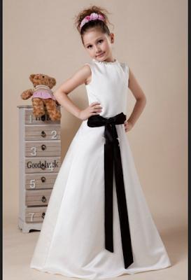 gaun princess untuk anak perempuan 10 tahun
