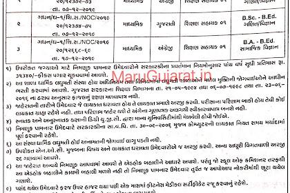 Mount Carmel High School, Gandhinagar Recruitment for Shikshan Sahayak Posts 2019