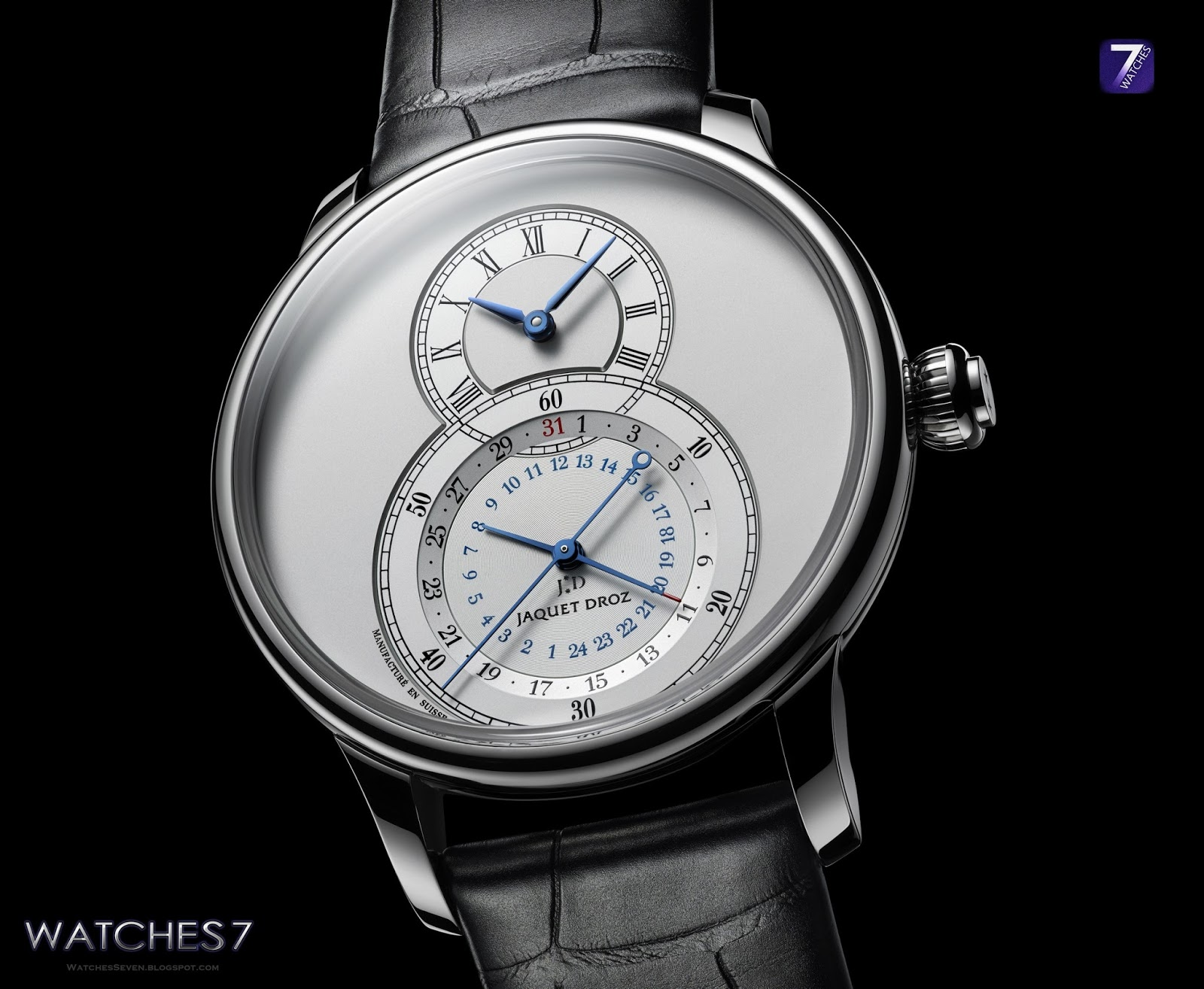 Watches 7: JAQUET DROZ – Grande Seconde Dual Time