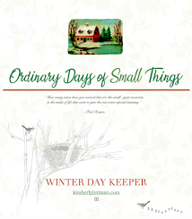 NOW AVAILABLE!<br>The Ordinary Days of Small Things<br>Winter Day Keeper