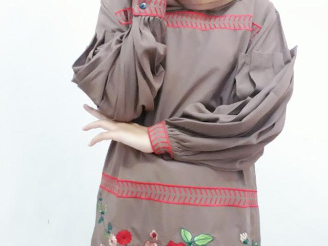 hijab tunik